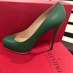 Valentino Green Heels
